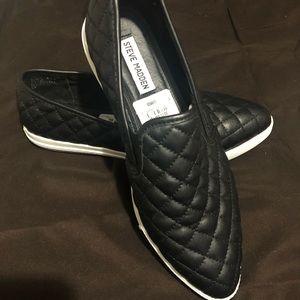 Steve Madden Eurros quilted slip on sneakers